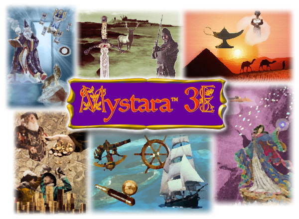 Mystara-3E Entry Portal Splash Screen